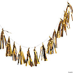 Gold Tassel Garland