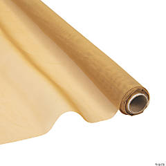 Gold Voile Sheer Fabric Roll