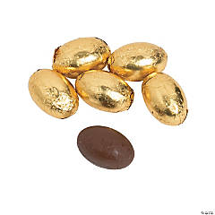 Golden Chocolate Eggs