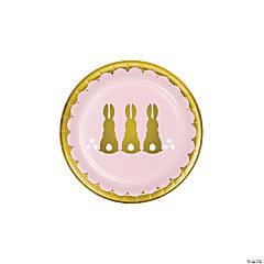 Golden Easter Paper Dessert Plates - 8 Ct.