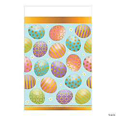 Golden Easter Tablecloth