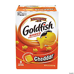 GOLDFISH Cheddar Baked Snack Crackers, 3.6 lb
