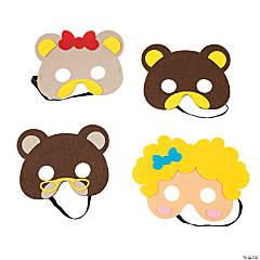 Goldilocks & the Three Bears Masks