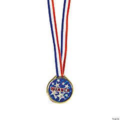 Goldtone Laser Winner Medals