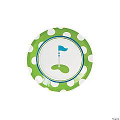 Golf Par-Tee Paper Dessert Plates