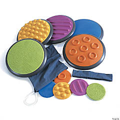 Gonge Tactile Discs: Beginner Patterns, Set of 5