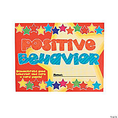 Good Behavior Punch Cards