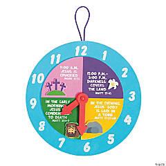 Good Friday Clock Craft Kit