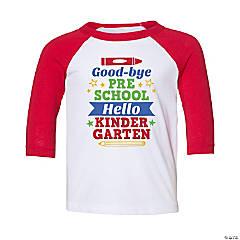 Goodbye Preschool, Hello Kindergarten Toddler T-Shirt