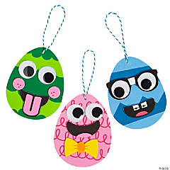 Goofy Easter Egg Ornament Craft Kit