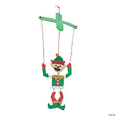 Goofy Elf Puppet Craft Kit