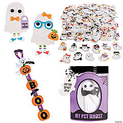 Goofy Ghosts Craft Kit Assortment