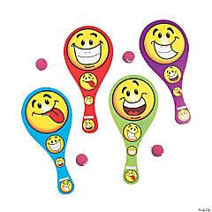 Goofy Smile Face Paddleball Games PDQ