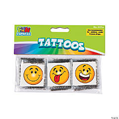 Goofy Smile Face Tattoos