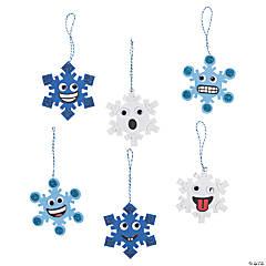 Goofy Snowflake Ornament Craft Kit
