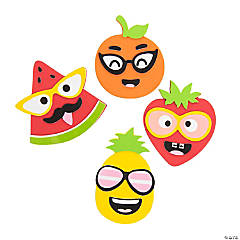 Goofy Summer Fruit Magnet Craft Kit