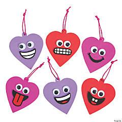 Goofy Valentine Heart Ornament Craft Kit
