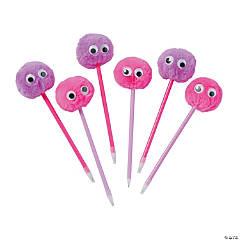 Googly Eye Pom-Pom Pens
