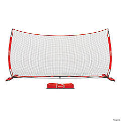 GoSports 20' x 10' Sports Barrier Net with Weighted Sand Bags - Huge Backstop Net for Basketball, Football, Baseball, Softball, Lacrosse and more