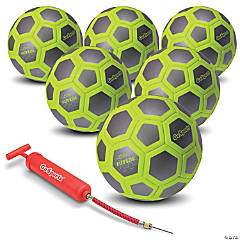 GoSports ELITE Futsal Ball 6 Pack - Great for Indoor or Outdoor FUTSAL Games or Practice, Includes Pump