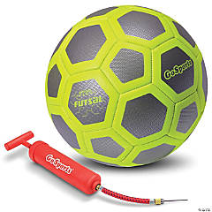 GoSports ELITE Futsal Ball - Great for Indoor or Outdoor FUTSAL Games or Practice, Includes Pump