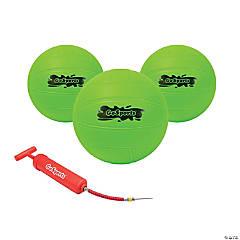 GoSports Green Water Volleyballs - 3 Pack