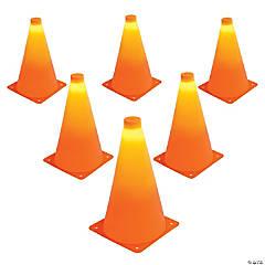 GoSports LED Light Up Sports Cones (6 Pack), 9