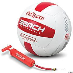 GoSports Pro Series Outdoor Beach Volleyball - Regulation Size & Weight with Bonus Air Pump