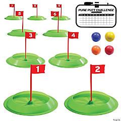 GoSports Pure Putt Challenge Mini Golf Game Set