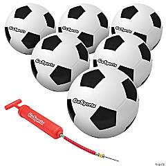 GoSports Size 4 Soccer Balls - 6 Pack