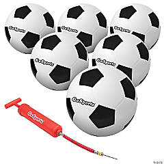 GoSports Size 5 Soccer Balls - 6 Pack