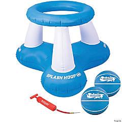 GoSports Splash Hoop Air, Inflatable Pool Basketball Game – Includes Floating Hoop, 2 Water Basketballs and Ball Pump