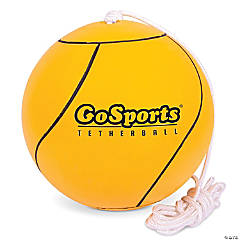 GoSports Tetherball and Rope Set, Full Size Backyard Outdoor Tetherball - Universally Compatible Tetherball Replacement