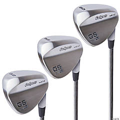 GoSports Tour Pro Golf Wedge Set – Includes 52 Degree Gap Wedge, 56 Degree Sand Wedge and 60 Lob Wedge Degree in Satin or Black Finish (Right Handed)