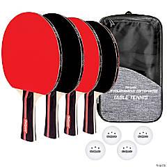 GoSports Tournament Edition Table Tennis Paddles - Set of 4