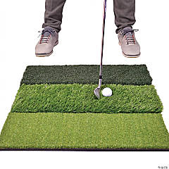 GoSports Tri-Turf XL Golf Practice Hitting Mat