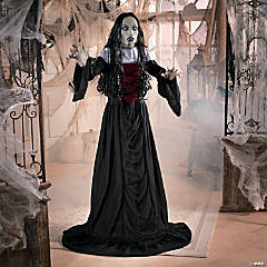 Goth Vampire Lady Halloween Decoration