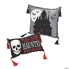 Gothic Halloween Pillow Set