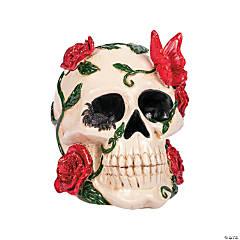 Gothic Tabletop Skull Halloween Decoration