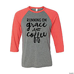 Grace & Coffee Adult's T-Shirt - Large