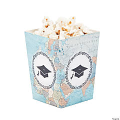 Grad Adventure Popcorn Boxes