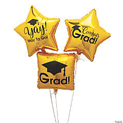 Grad Mylar Balloon Set