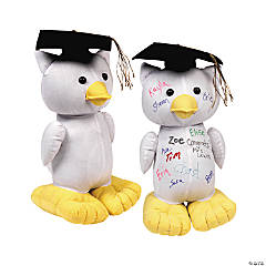 Graduation Autograph Stuffed Owl