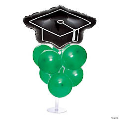 Graduation Balloon Centerpieces - Green