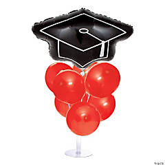 Graduation Balloon Centerpieces - Red