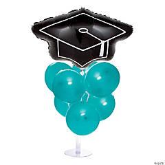 Graduation Balloon Centerpieces - Turquoise