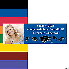 graduation banners personalized banners oriental trading company
