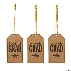 Graduation Mason Jar Tags
