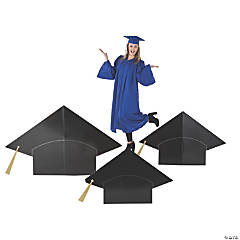 Graduation Mortarboard Stand-Ups