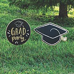 Graduation Party Yard Signs